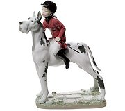 Lladro - Giddy up Doggy