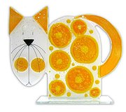 Nobile Glass - Cat Orange