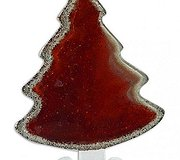 Nobile Glass - Christmas Tree Red Small