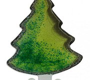 Nobile Glass - Christmas Tree Green Large