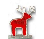 Nobiel Glass - Reindeer Red Large