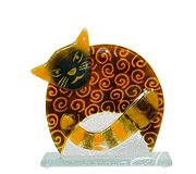 Nobile Glass - Brown Cat