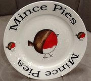 Redwood - Mince Pies Robin Plate