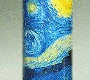 Silhouette d' Art - Starry Nights- Vincent Van Gogh
