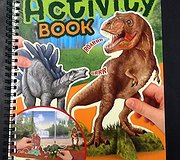 Top Model - Dino World Activity Book