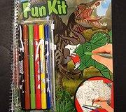 Top Model - Dino World Fun Kit with Felt Pens