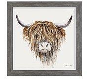Art Marketing - Freddie the Highland Cow