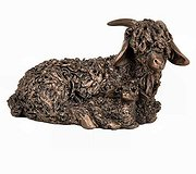 Frith Sculptures - Angora Goat with Kid