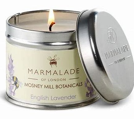 Marmalade of London - English Lavender Tin Candle