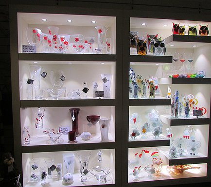 inside shop nobile glass