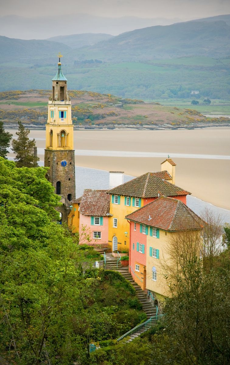 Venue with a View – Portmeirion – North Wales