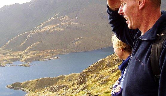 Above Llyn Lladaw - Above Llyn Lladaw