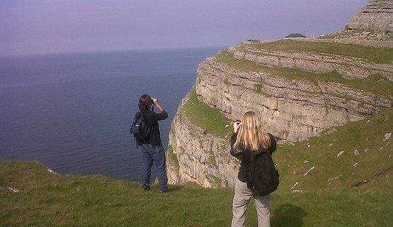 Great Orme cliffs - Dramatic scenery from the Great Orme