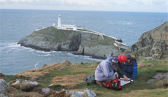 Southstack hike - Walking at Southstack