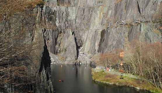 Vivian Quarry - Moving Mountains - Vivian Quarry Llanberis