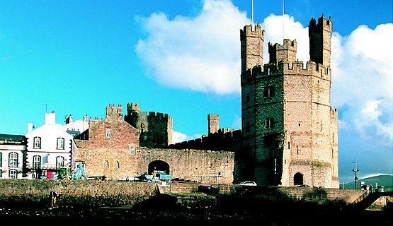 Caernarfon Castle - Caernarfon Castle
