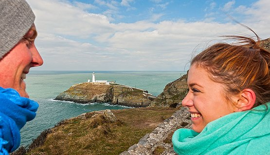 South Stack Anglesey - Rugged romantic coast