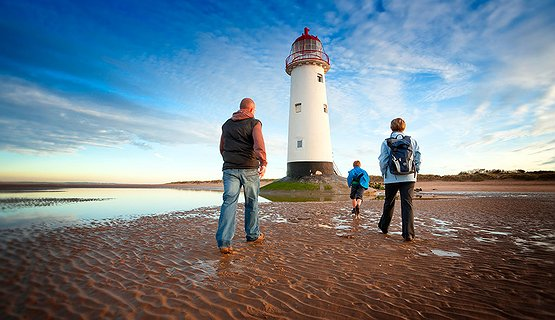 Talacre Lighthouse - Hear interesting stories