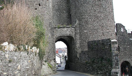 Conwy Medieval Town  - Explore this walled Town.