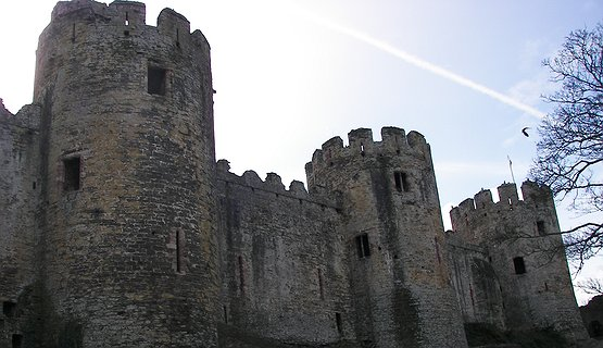 Edward 1 Conwy Castle - World Heritage Site.