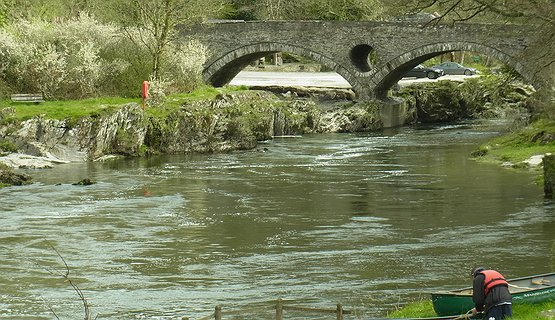 The Bridge at Cenarth - 18th Century Bridge