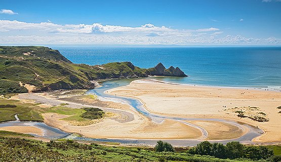 Three Cliffs Bay - Three Cliffs Bay