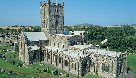 St Davids Cathedral - Nestling in the valley