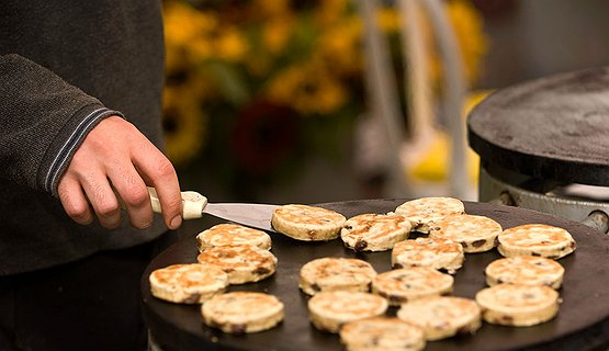 Welsh cakes - Hot from the griddle!