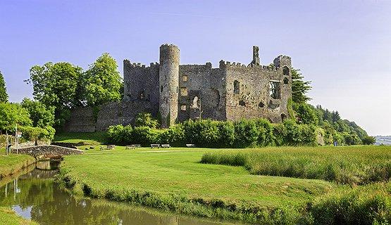 Castles - Laugharne