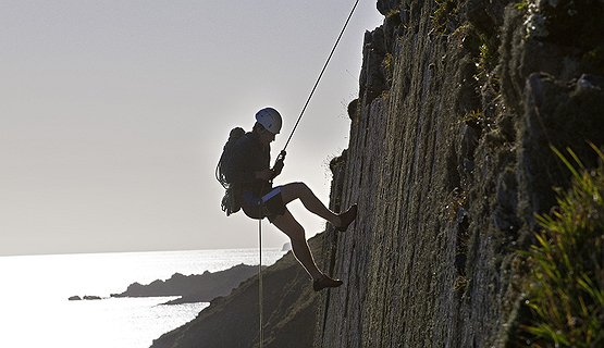 Abseiling - Great Views