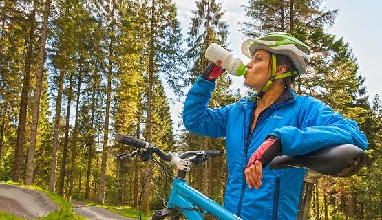 Trail Biking - Thirsty Work