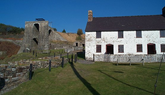 Blaenavon Ironworks in UNESCO World Heritage Site