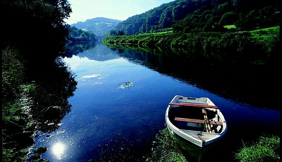 Boat on River Wye