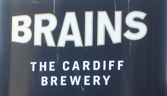 Brains Brewery Sign
