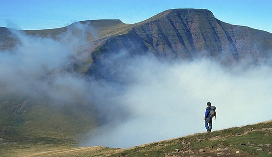 Brecon Beacons - Lone Hiker