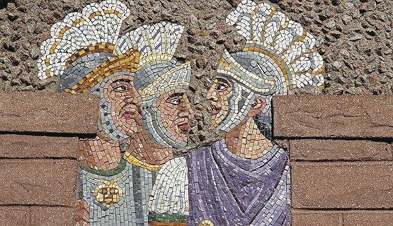 Caerleon - Roman Mosaic