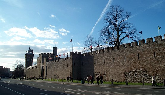 Cardiff Castle - One of 3 fortifications on the same site