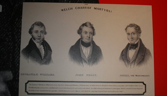 Chartist Leaders - Zephaniah Williams, John Frost & William Jones