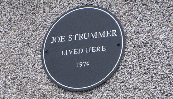 Joe Strummer plaque