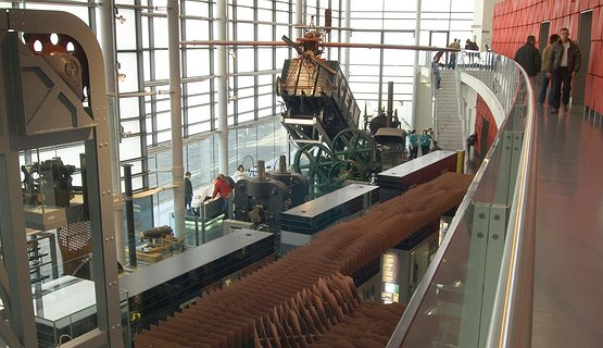 National Waterfront Museum - Internal - Inside the National Waterfront Museum
