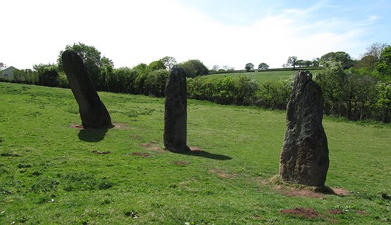 Prehistoric Harold Stones