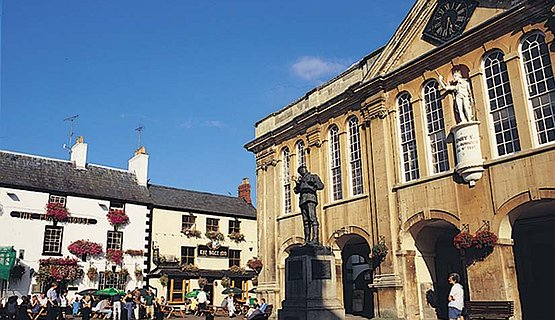 Shire Hall Monmouth - Site of the Chartist Trials