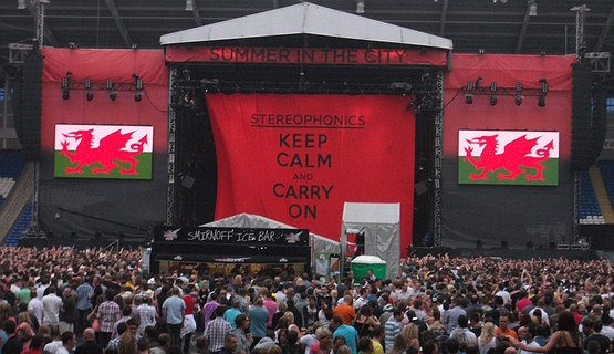 Stereophonics in Cardiff