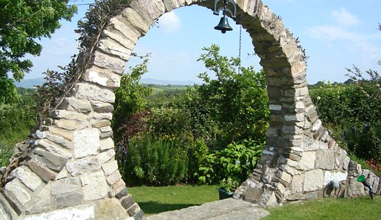 Vale of Clwyd Gardens 2 - The eye of the Vale