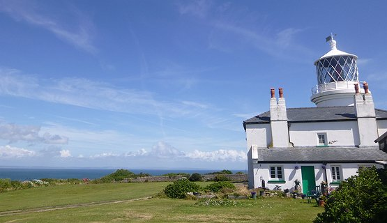 Caldey Lighthouse - Lighthouse on Caldey Island