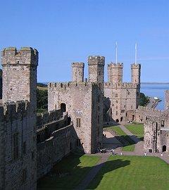 Caernarfon Castle & Medieval Town