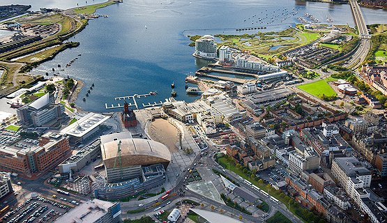 Cardiff Bay and the Barrage