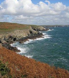 Pembrokeshire walking holidays - steps of St David