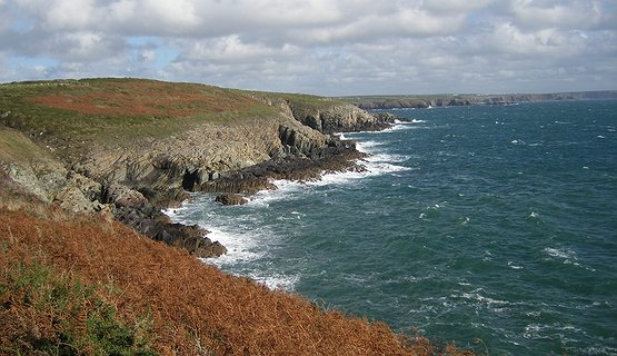 Pembrokeshire walking holidays - steps of St David