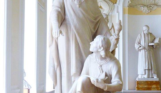 Sculptures in Cardiff